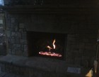 Alpharetta Outdoor Fireplace