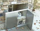 Alpharetta Outdoor Fireplace